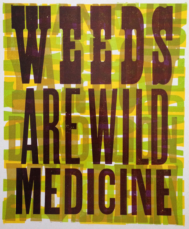 weeds are wild medicine