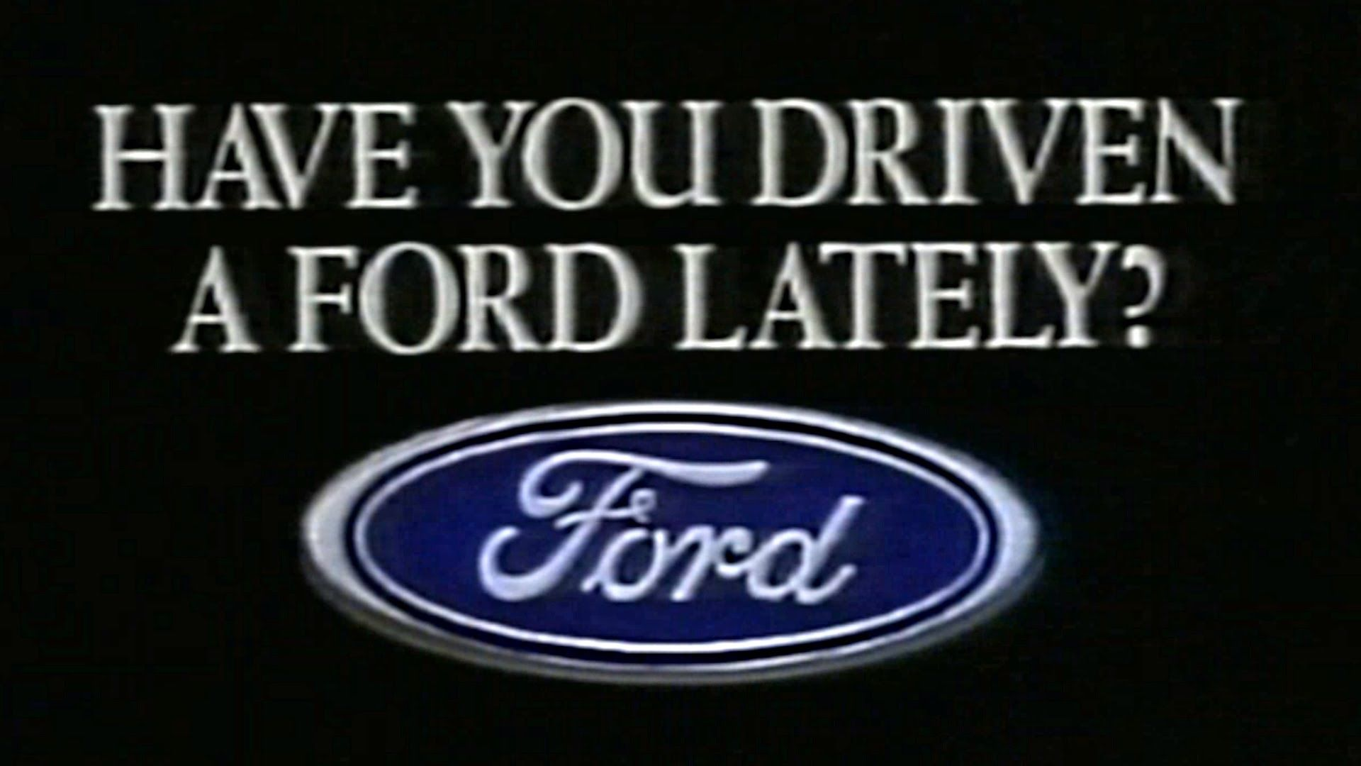 """Have you driven a Ford…lately?"" was a well crafted marketing slogan which utilized the 3 C's."