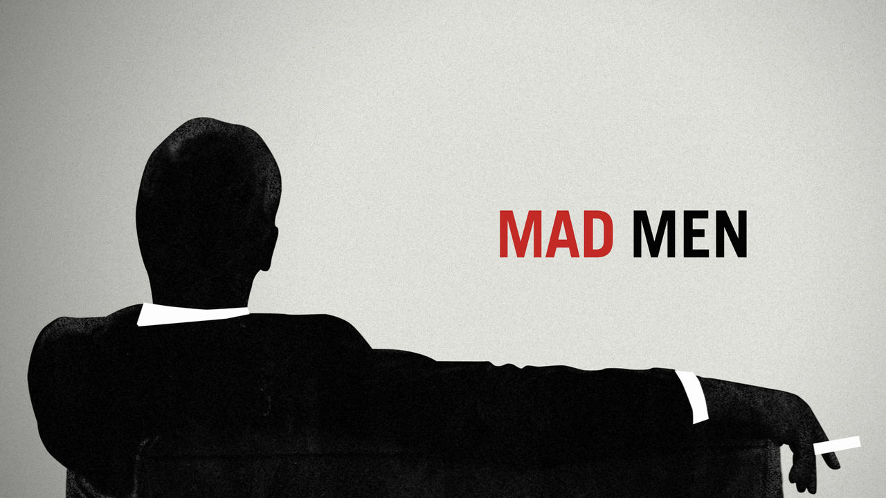 Opening credits of the TV Show Mad Men.