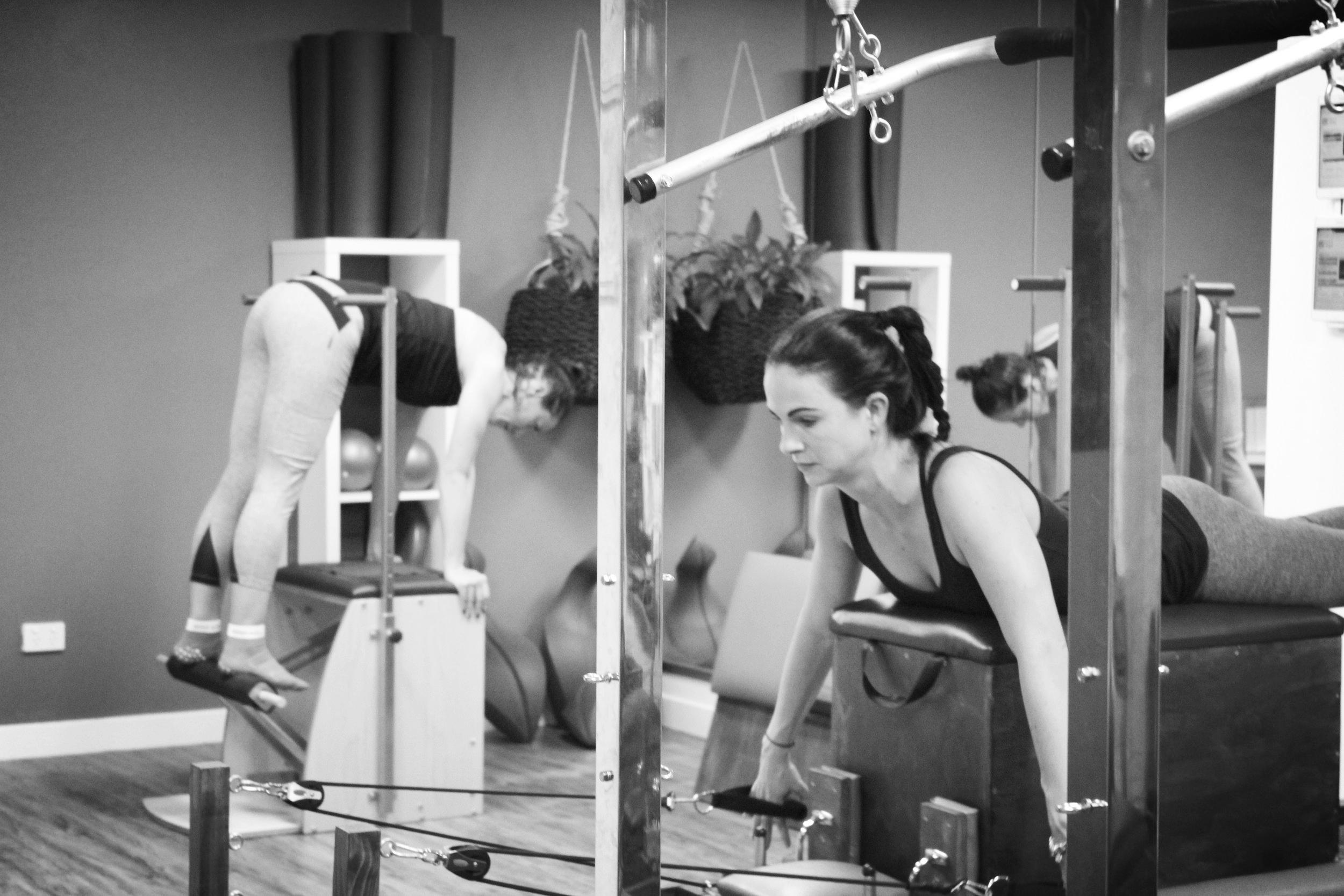 Functional Pilates - Individualised - Programmed - Progressed