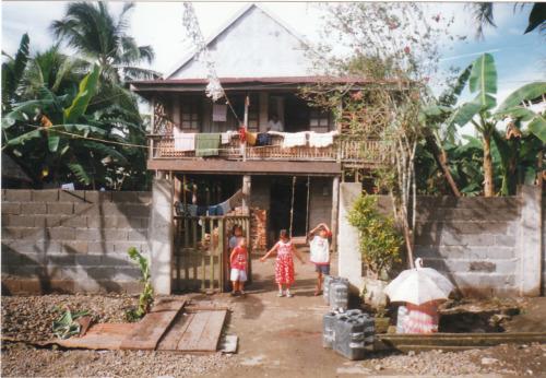 Salazar Ancestral House. Circa 1999. General MacArthur, Eastern Samar, Philippines.