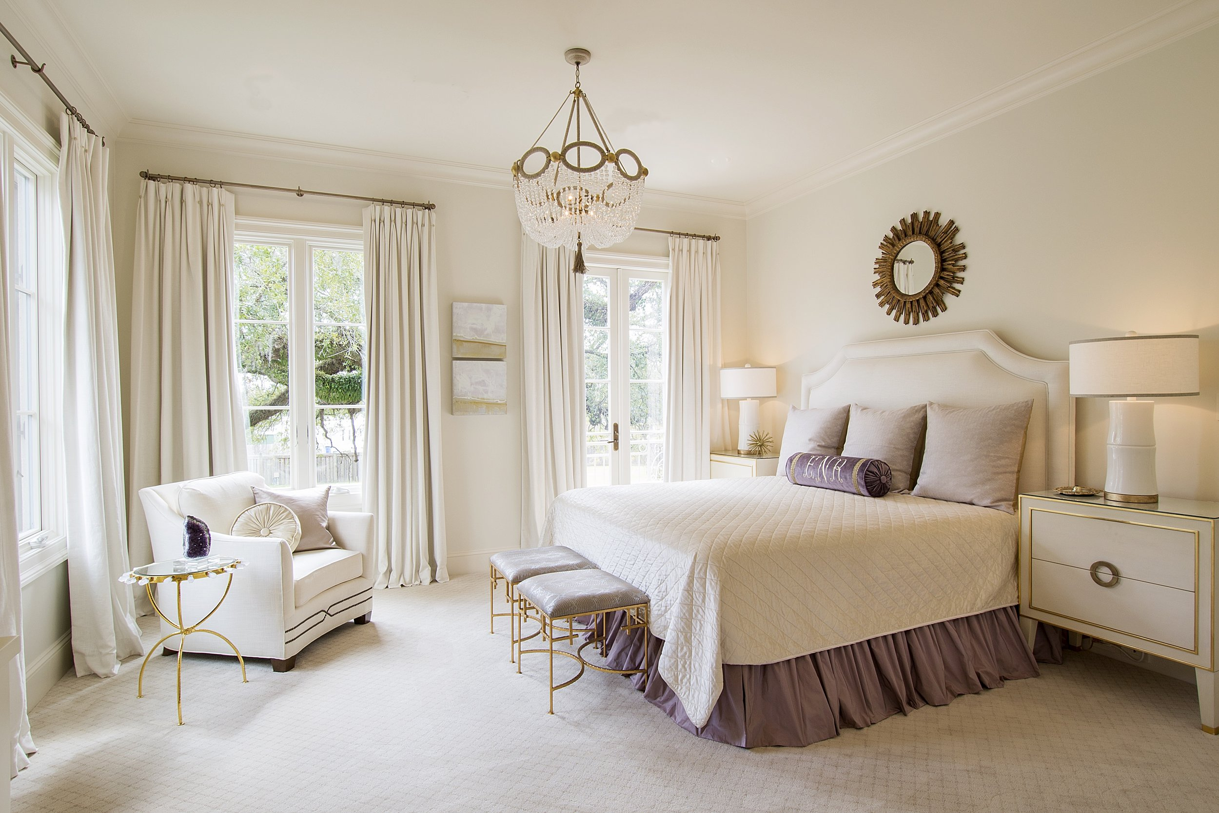 Bayou Teche Residence - Bedroom Design