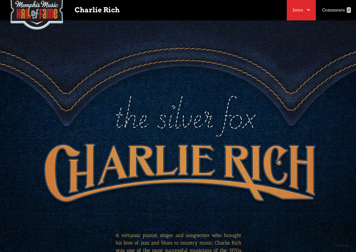 Charlie Rich (Through Simple Focus)