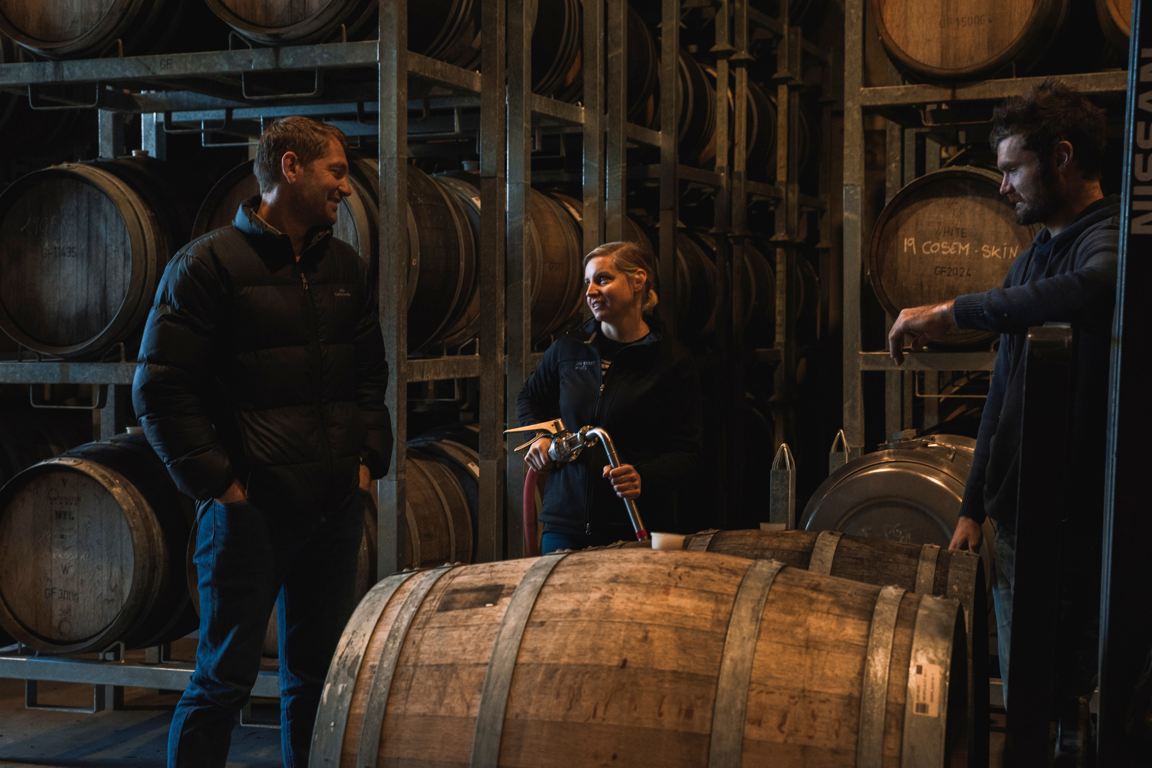 The Coterie small batch premium contract winemaking - crew