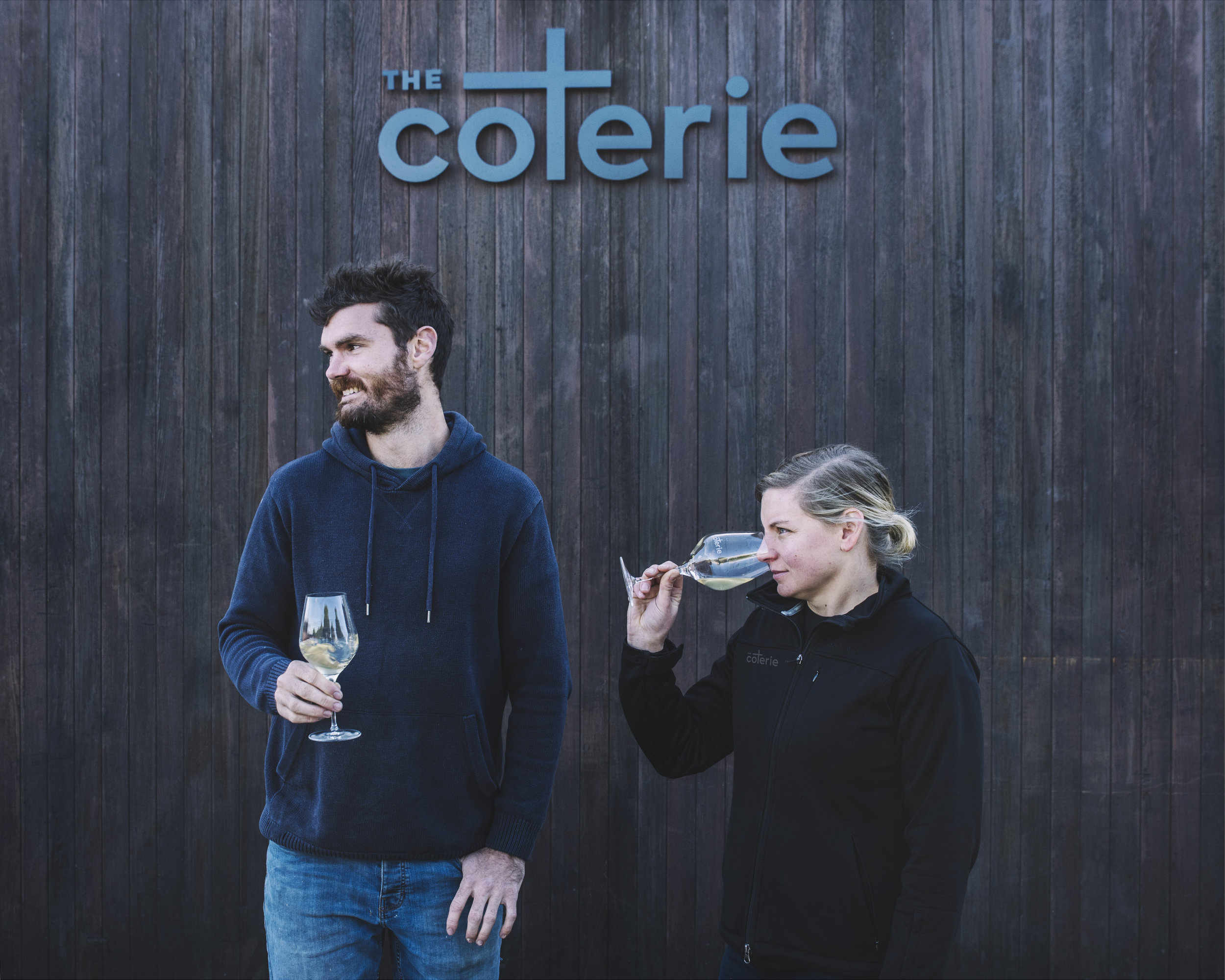 The Coterie small batch premium contract winemaking - clients