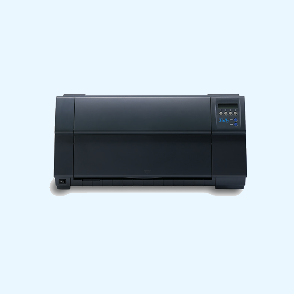 - $100 trade-in rebate when you purchase a Tally® 4347-i 08 or 4347-i 10 and return any old line or serial matrix printer (any manufacturer)