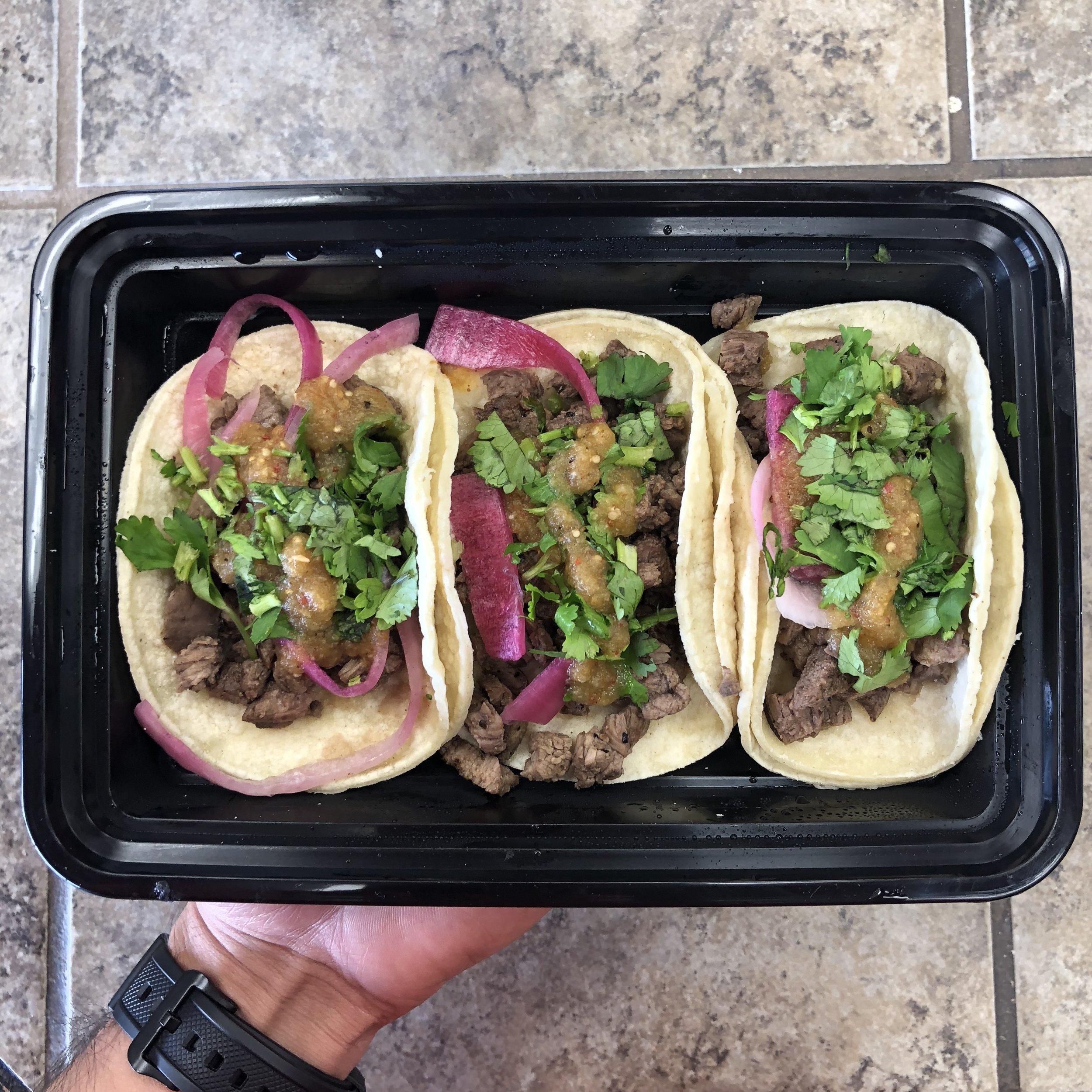 Tacos De Asada (Beef)