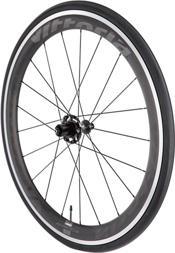 Fraxion Alloy Carbon - This premium, medium-profile clincher wheel set has strength and stiffness of carbon, with reliable alloy braking surface. The Fraxion has 45 mm front rim and an asymmetric 50 mm deep rear rim