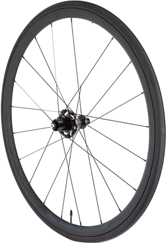 Elusion Nero - The ultimate all-black alloy race clincher. These 23mm wide differential-height rims are full-black with Nero ceramic coating for spectacular looks and reliable braking performance (special brake pads included)
