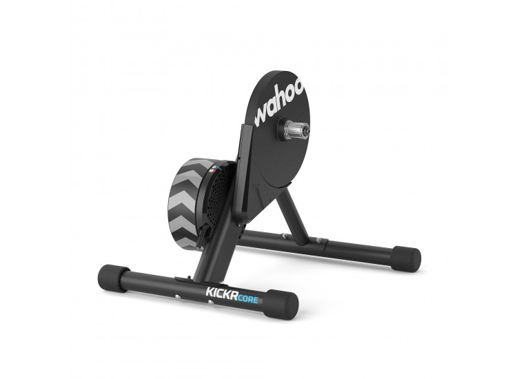 Kickr Core - KICKR CORE delivers a realistic, accurate and quiet indoor training experience by using the proven flywheel technology and advanced algorithms that originated with the iconic KICKR smart trainer.