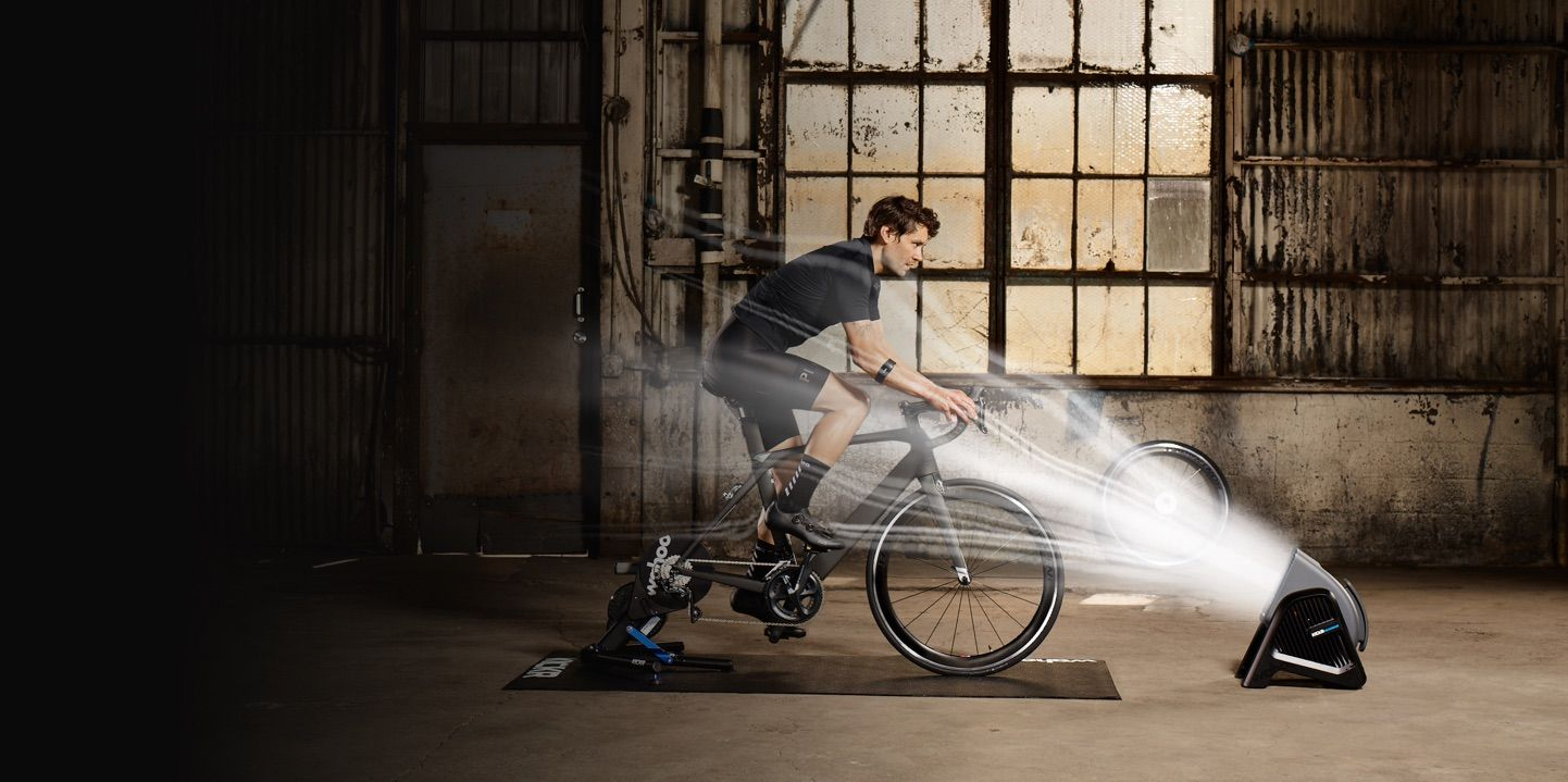 Kickr Headwind - KICKR HEADWIND's variable speed vortex fan is capable of reaching wind speeds experienced while speeding down the open road, delivering the high velocity cooling needed to stay comfortable during the toughest indoor workouts.