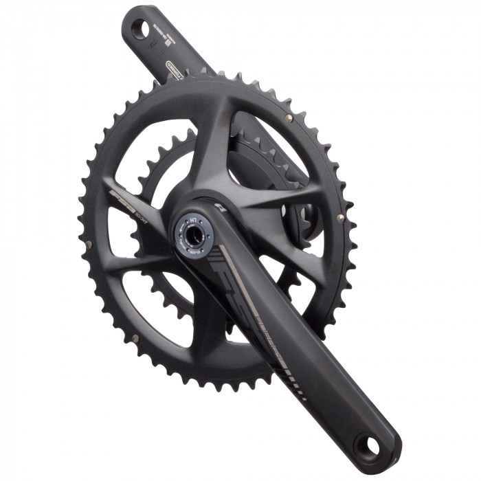 Energy Modular BB386EVO - ENERGY modular BB386EVO is the latest FSA crankset for gravel, adventure, or road use. Thanks to the adaptable BB386 EVO 30mm spindle, this modular system will fit a wide variety of frames with a range of BB standards. 52/36 , 50/34, 48/32 or 46/30 are the offered ring combinations.