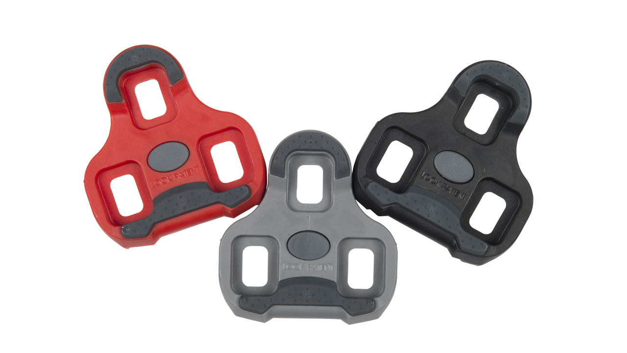 KEO Grip Cleats - The Kéo GRIP cleat has a nonslip surface. It is safer to use and makes walking easier, and is compatible with the pedals in the Kéo lineupThree float options are available to fit the needs of every cyclist: 0 ° black / 4.5 ° grey / 9 ° red.