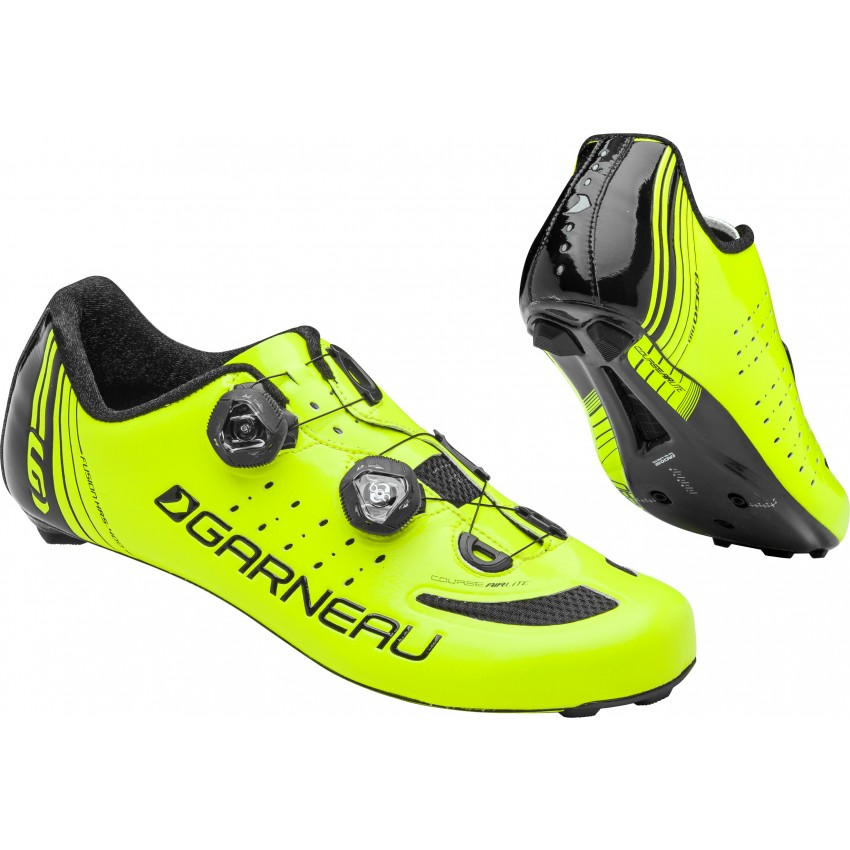 Course Air Lite - The Course Air Lite road cycling shoes are our lightest shoe yet. The Carbon HM X-Lite outsole with titanium inserts is ultra-light and rigid for better power transfer, and the 4.3 mm carbon platform brings your feet closer to the pedal for even more power.