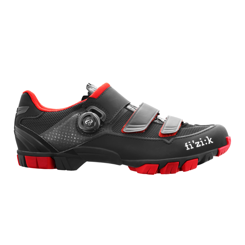 M6 - M6B offers a superior blend of comfort and fit, power transfer, light weight, and trail-tough resilience. It features a tough rubber outsole combined with a carbon reinforced Nylon midsole – giving stiffness for ultimate power transfer, superior grip and protection from the trail.