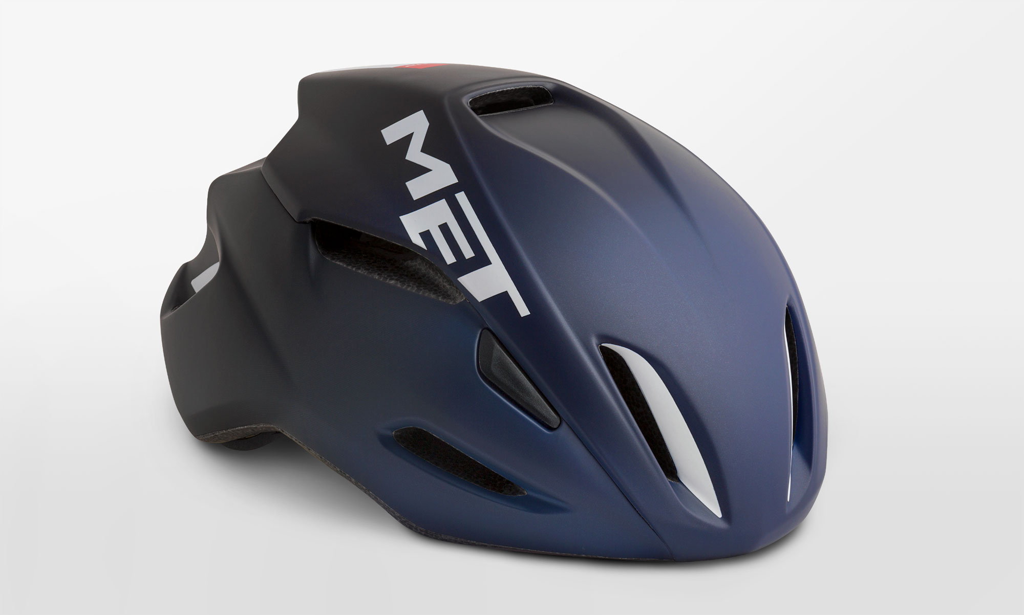 Manta - We developed the MET Manta specifically with aerodynamic performance in mind. It's quite simply one of the most competitive sprinters' helmets in the game, saving you 10 watts at 50km/h.
