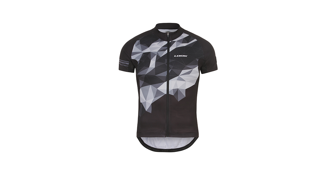 LOOK Pulse Jersey - Men's jersey. Anatomical fit/Seasonal colors/ Breathable/YKK self-locking zipper/Silicon waistband/3 rear oversized pockets/ Excellent support.