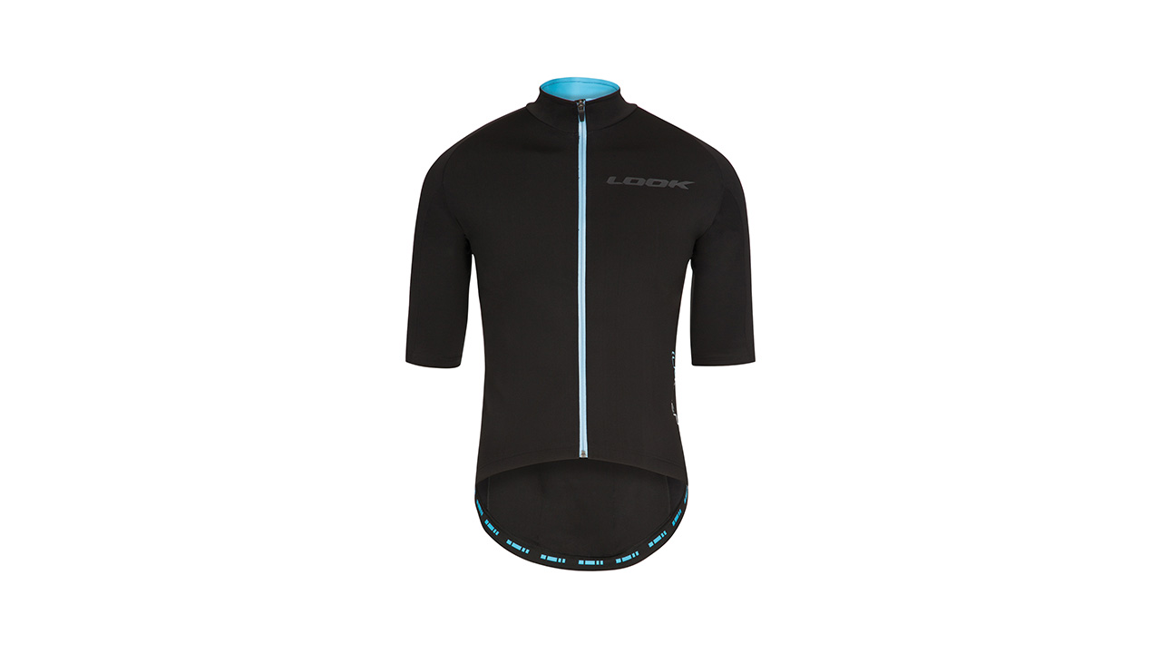 LOOK [LM]Ment Jersey - Men Jersey – Sizes S to XXL Aerodynamic cut / Mid-season product / Light and clean cut short sleeves / Perspirant – Vent Flex ® membrane/ Water resistant (10 000 mm) / Reflecting Elements / 3 back pockets with protection flap/ Water resistant Zip.