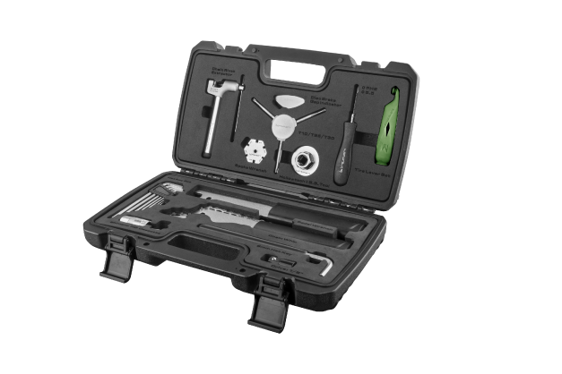Essential Tool Box - A collection of 13 carefully selected pieces from Birzman's portfolio of high performance tools.