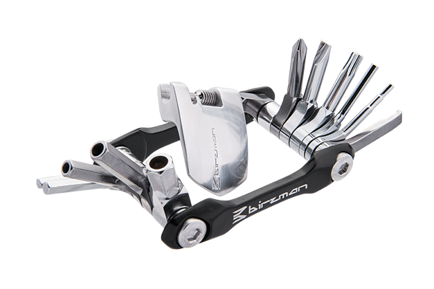 Feexman Aluminum 12 - The silhouette of the Feexman multitool combination has been inspired by the feathers of a bird.
