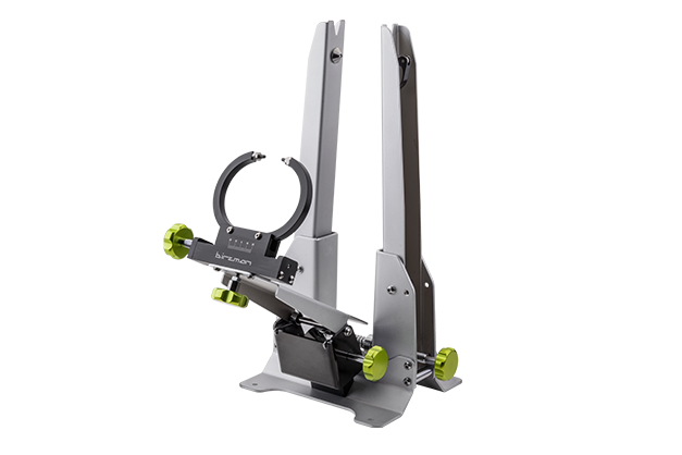 Truing Stand - Lengthened and strengthened uprights to fit wheels up to 29