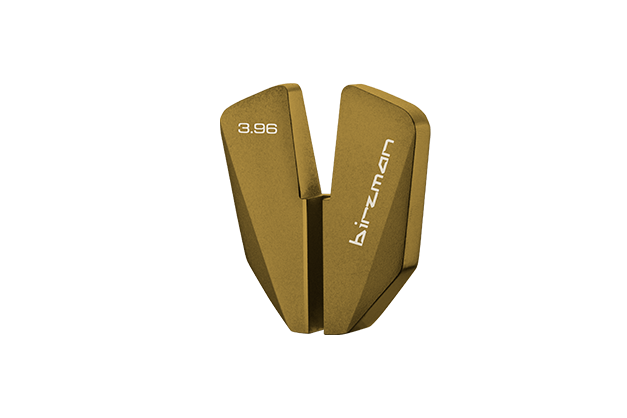 Spoke Wrench Gold 3.96 - CNC machined 7075-T6 aluminium, sandblasted then anodised to indicate individual sizes.