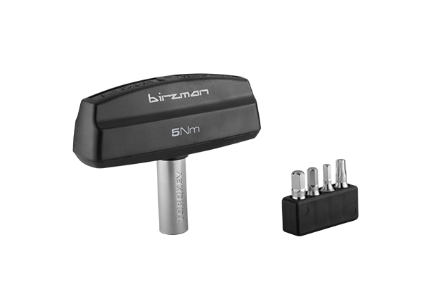 Torque Driver 5nm - The Torque Driver is a multi-head driver that limits torque to prevent damage to components during fastening. It features an ergonomic design for ease of use.Torque Driver 5Nm limiter alert system