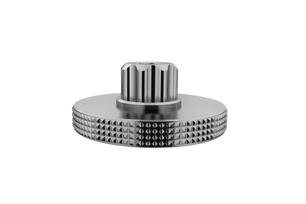 Crank Arm Cap Tool - Compatible with Hollowtech II cranksets or other 8-notch crank arm caps