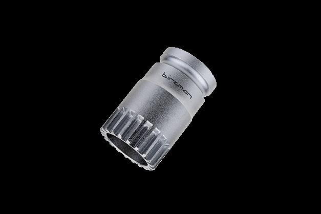 B.B. Socket (Shimano Cartridge) - Compatible with Shimano Cartridge or other similar 20-notch Ø31.6mm bottom brackets.