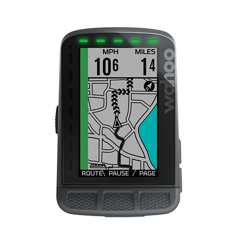 Wahoo Elemnt Roam - ELEMNT ROAM is designed for those who view each ride as a new adventure. Powerful on-board smart navigation features have been combined with a vivid, durable 2.7