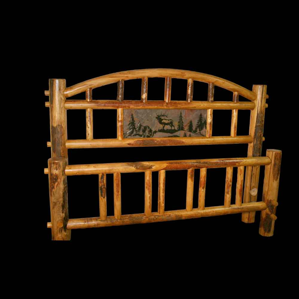 Rocky Mountain Arched Bed with Tile Insert