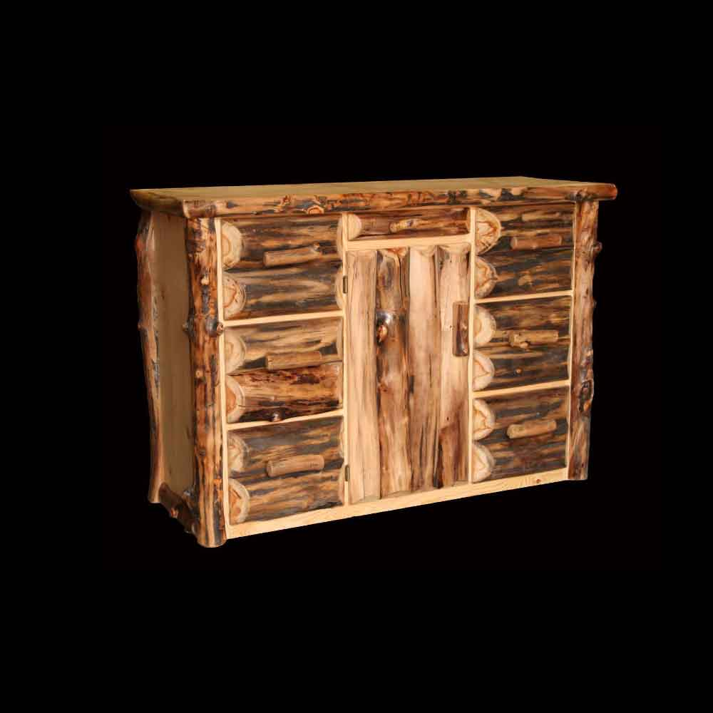 6 Drawer/1 Door Aspen Buffet