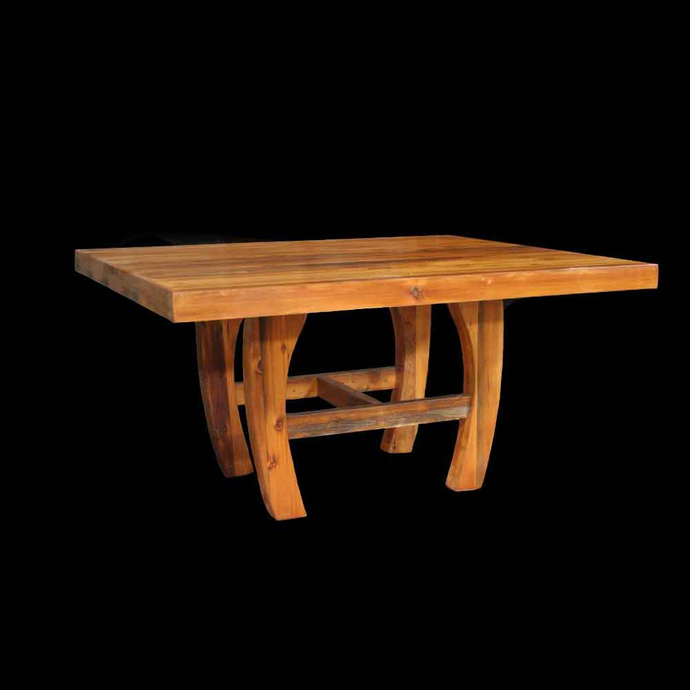 Barnwood Horse Shoe Table