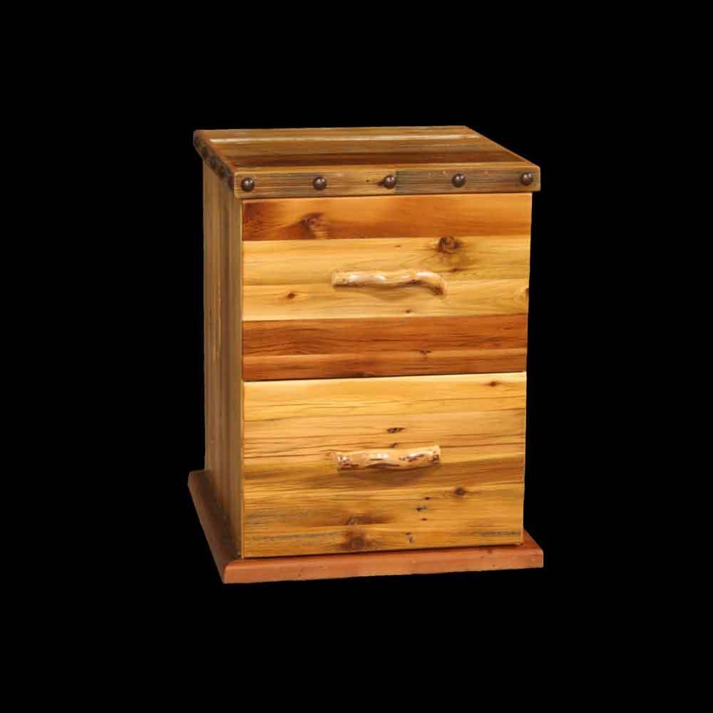 Barnwood File Cabinet