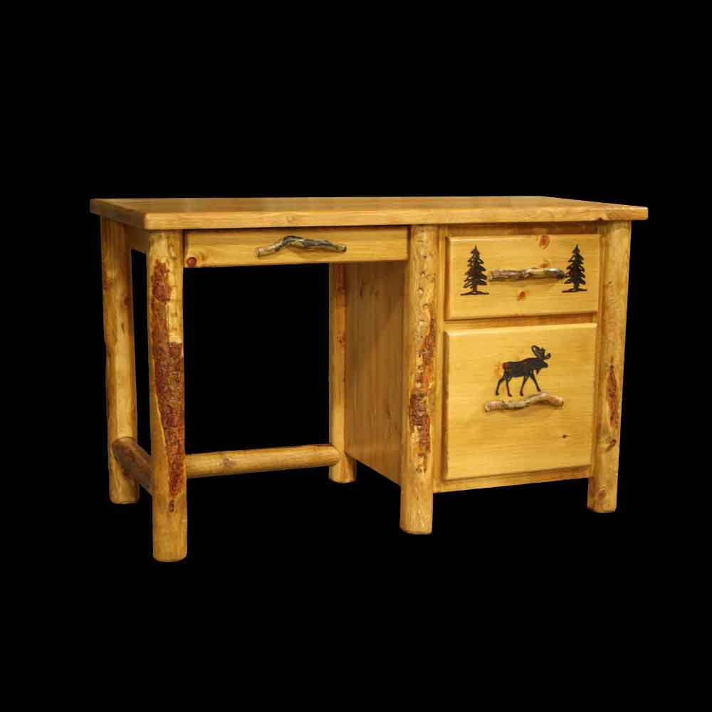 Rocky Mountain Student Desk with Open Back