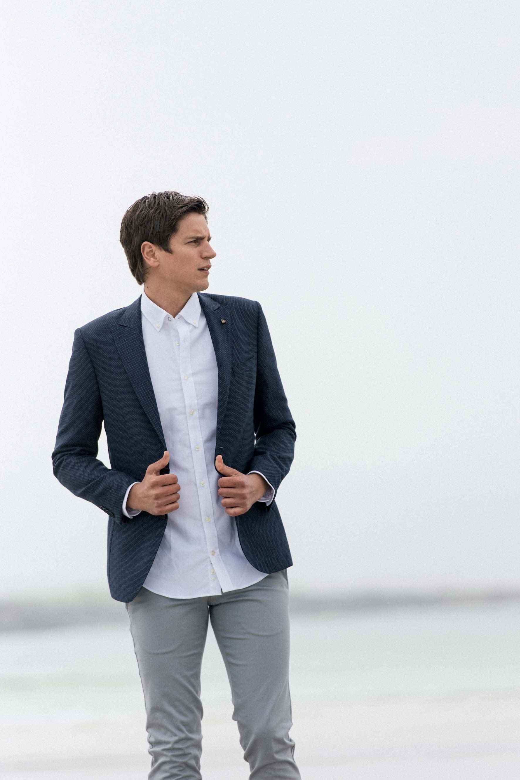blazers & Jackets - A good blazer is one of the most flexible items a man can have. Easily dress one up or down to suit the occasion by complementing it with a variety of clothes, be it a dress shirt and tie, polo shirt or even a T-shirt.