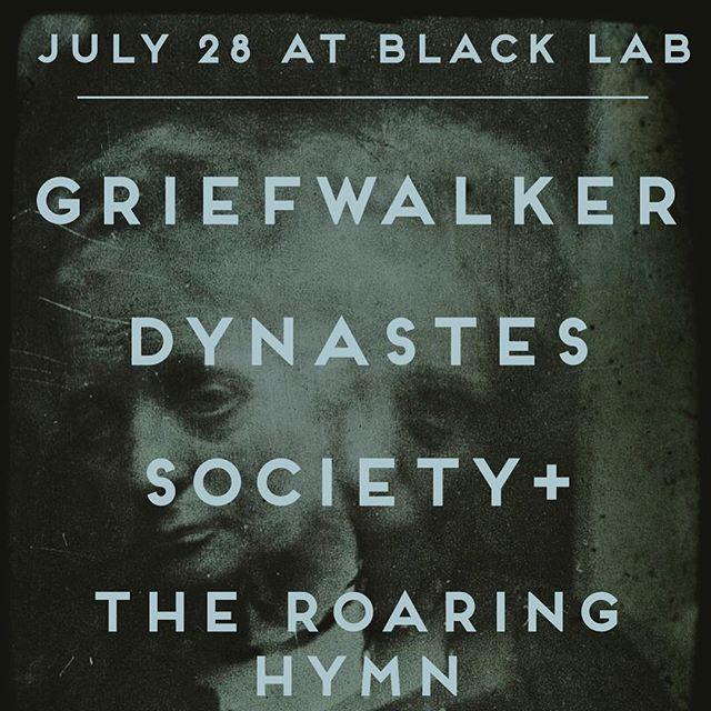 Next Griefwalker show July 28th
