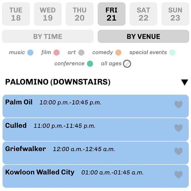 We'll be supporting @kowloonwalled  at @sledisland