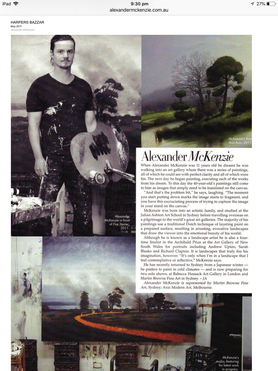 Harpers Bazaar 2011