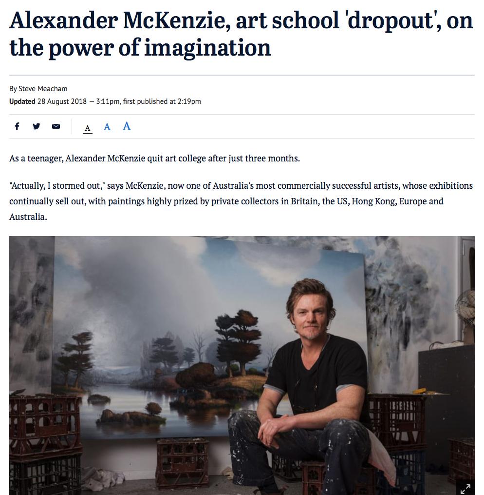 Sydney Morning Herald 2018