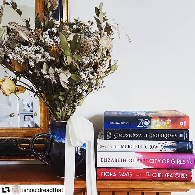 What are you reading this weekend? #repost @ishouldreadthat ・・・ Ho hum, guess who went to @foylesforbooks yesterday? To be fair, I only brought three of these - @juliakellywrites is lending me City of Girls and The Chelsea Girls!  Fun fact: that's her Maid of Honor  bouquet from my wedding! 💐  What's the last book you bought?  #bookstack #bookhaul #historicalfiction #ya #youngadult #fantasy