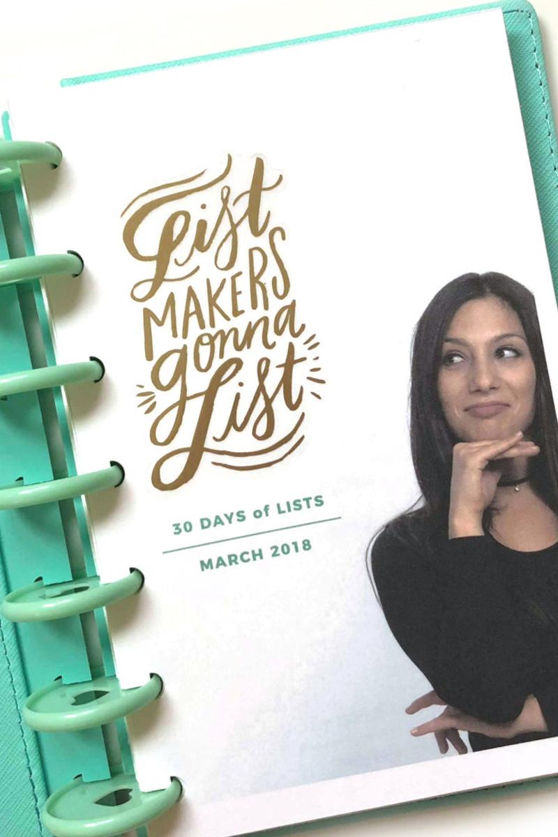 30 Days of Lists - March 2018 | Amanda Zampelli.jpg