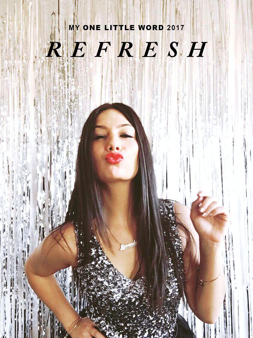 one little word™ 2017: REFRESH | Amanda Zampelli