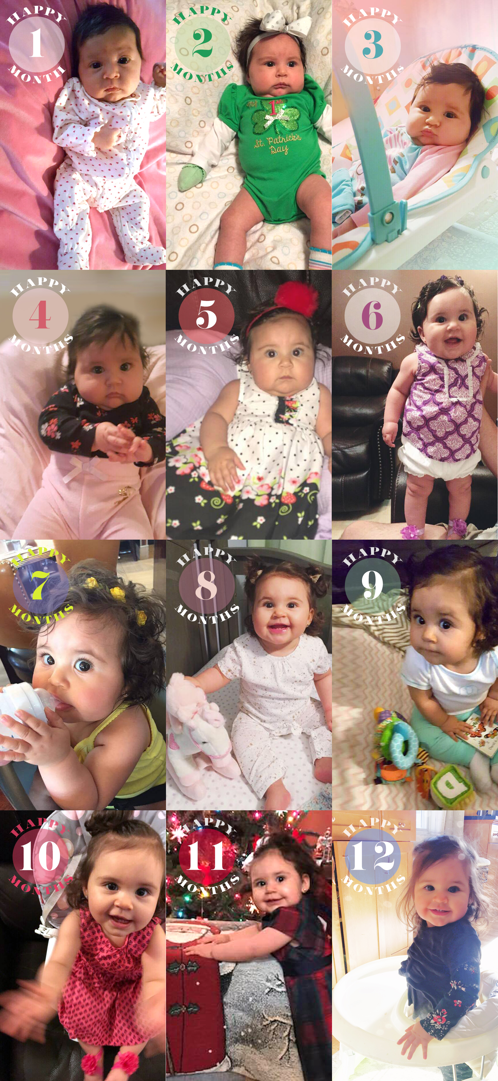 Raelyn is 1 year old | Amanda Zampelli