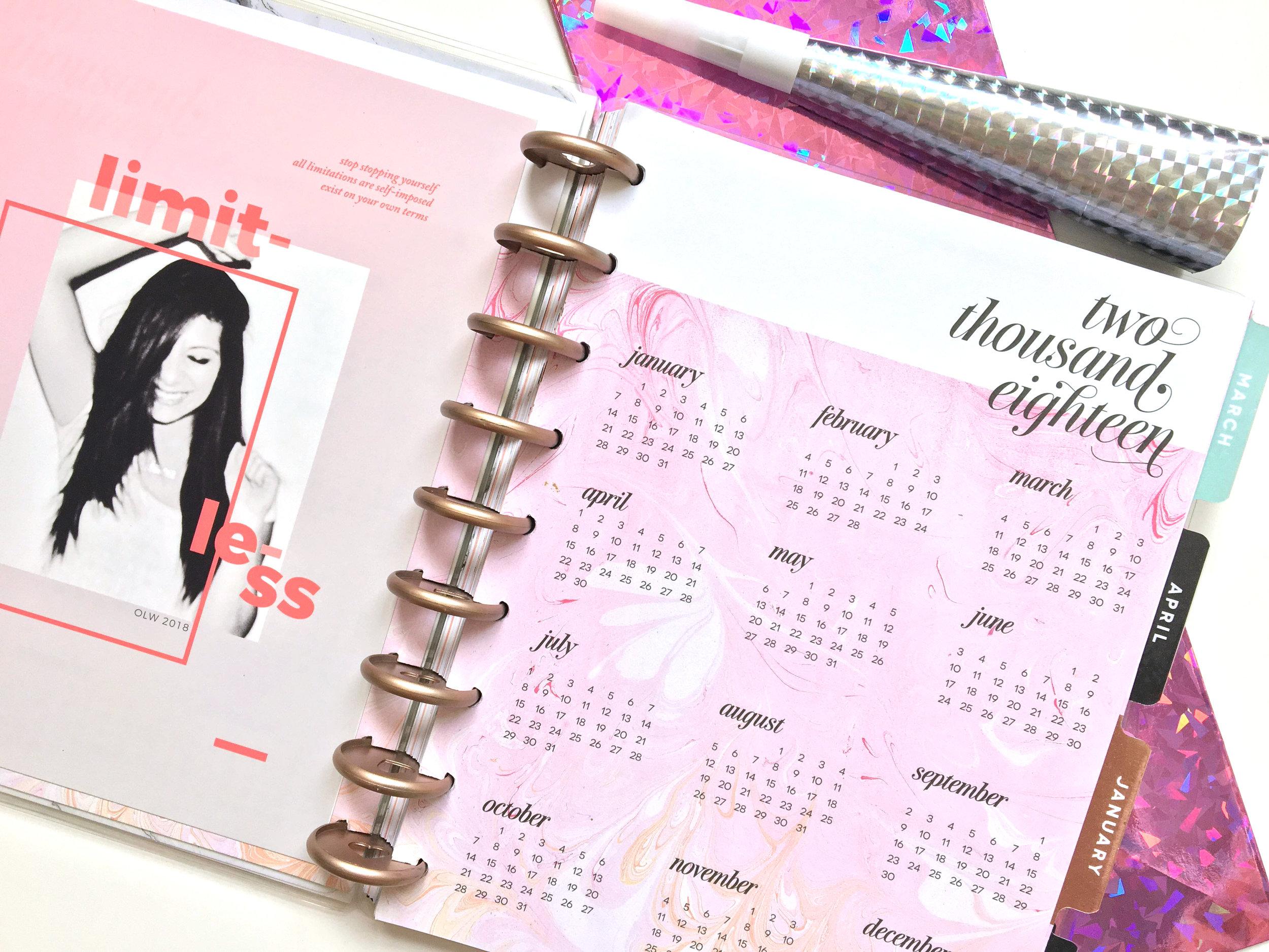 one little word™ 2018: LIMITLESS   Amanda Zampelli