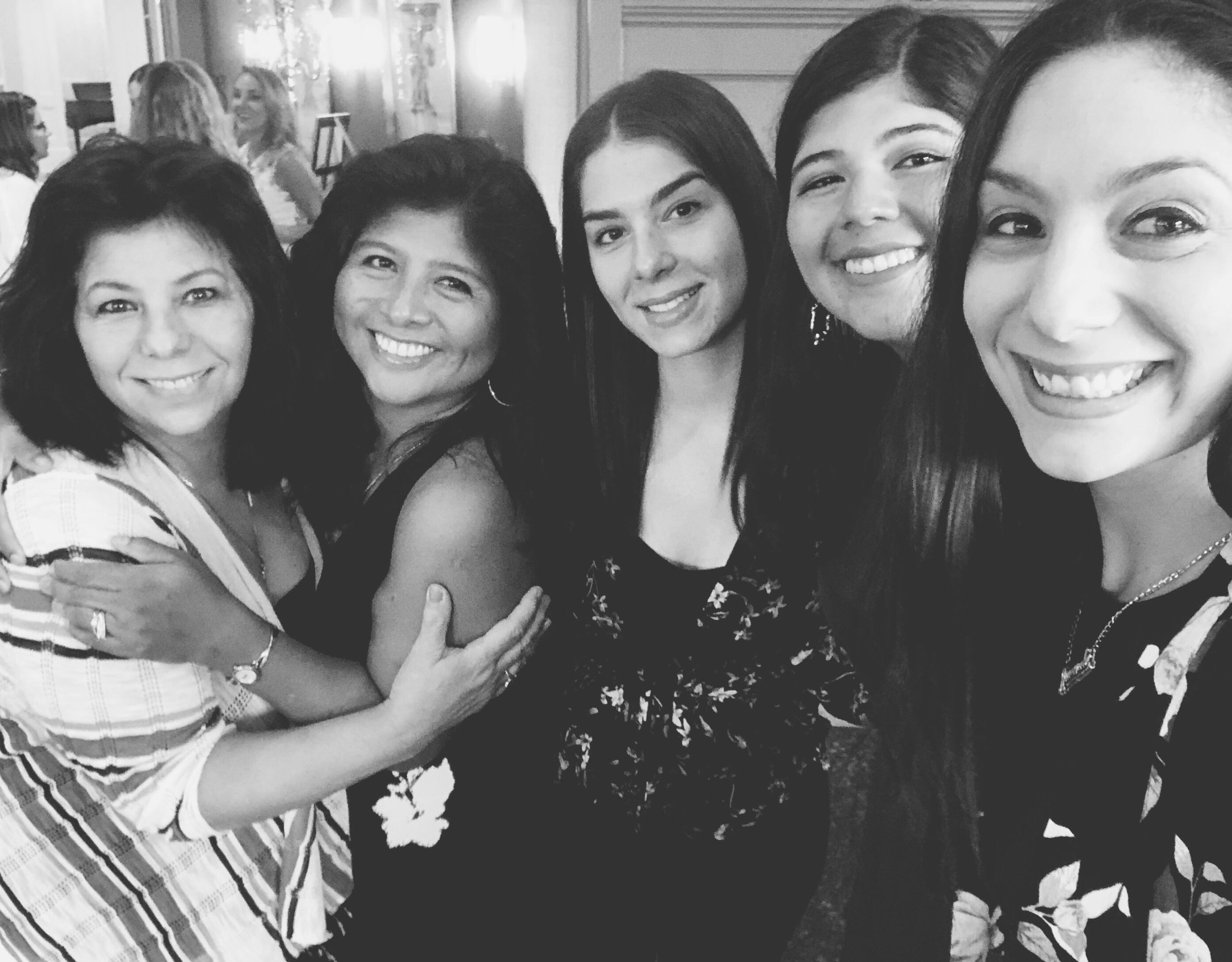 at Ashley's Bridal Shower w/ my ladies | Amanda Zampelli
