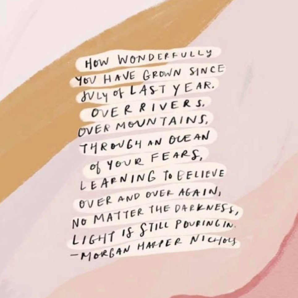 how wonderfully you have grown // Amanda Zampelli
