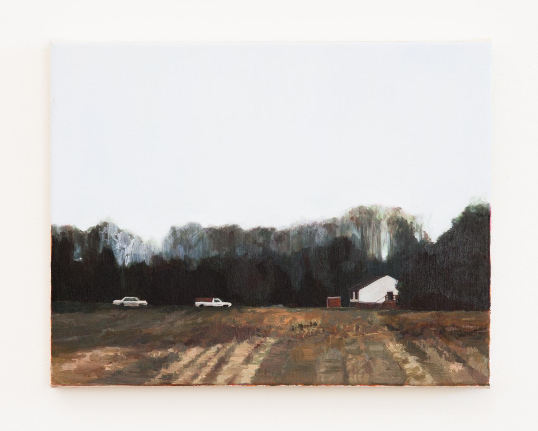 "Driveway, 2013, oil on canvas, 11"" x 14"""