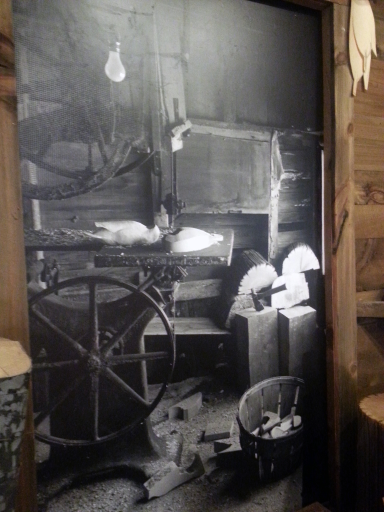 Photograph of Ward studio