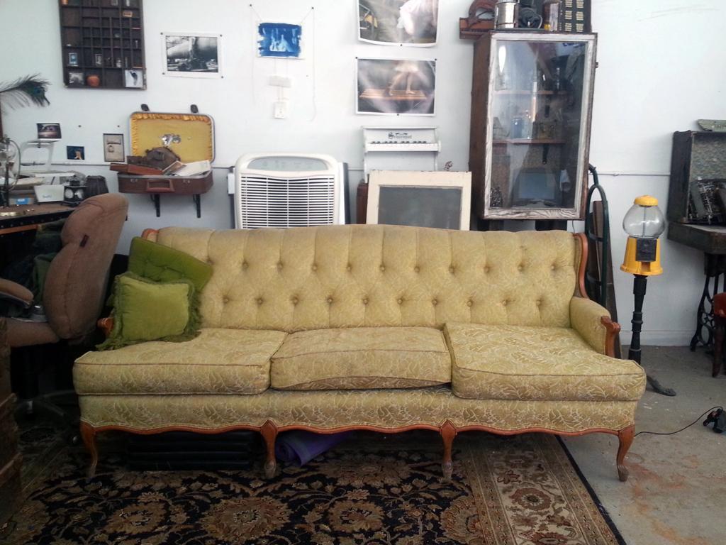 Genevieve Hastings' studio